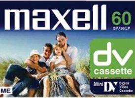 Cassette DV Mini Maxell DVM60P5