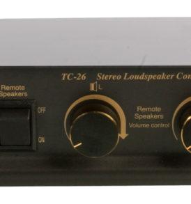 Conmutador altavoces con control volumen
