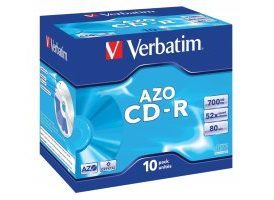 Verbatim CD-R AZO Crystal de 700 MB