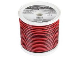 CABLE ALTAVOZ - ROJO/NEGRO - 2 x 1.50mm² - 100m