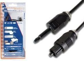 Cable Audio Toslink macho a Conector 3.5 (1.5m)