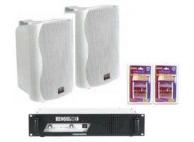 Pack: Etapa Vpa2100 + altavoces Pr-62 Blanco+ Cable 10m Rojo Negro X2
