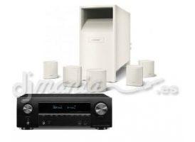 Denon AVR 1500 + Bose AcoustiMass 6 Blanco