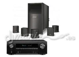 Denon AVR 1500 + Bose AcoustiMass 6 Negro