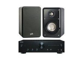 Onkyo A-9010 + Polk Audio S15 - Negro