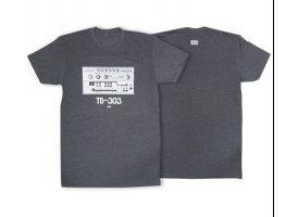 Roland TB303 Crew T-Shirt LG Charcoal