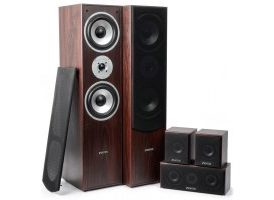 SkyTronic Sistema Home Cinema 5.0 - Nogal