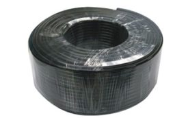 Cable coaxial RG59 de alimentación de CC con bobina de 100 m - König SAS-CABLE100