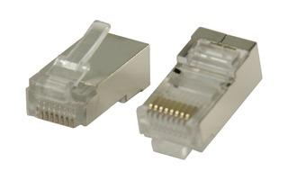 Conectores RJ45 para cables STP CAT5 trenzados 10 uds - Valueline VLCP89303M