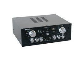 SkyTronic Amplificador Karaoke FM/USB/SD Negro