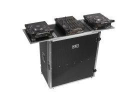 UDG U92049SL mesa para DJ de alumnio, totalmente plegable y con ruedas de transporte