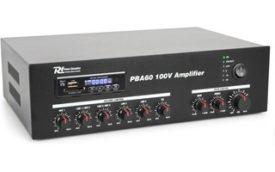 Power Dynamics PBA60 Amplificador linea 100V 60W