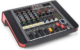 Power Dynamics PDM-M404A Mezclador directo amplificado 4 canales