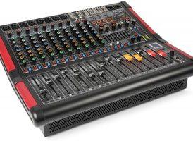 Power Dynamics PDM-S1204A Mezclador amplificado de sobremesa 12 canales