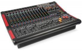 Power Dynamics PDM-S1604A Mezclador amplificado de escenario 16 canales