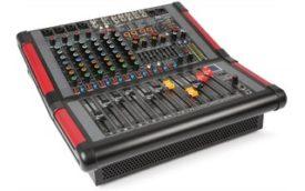 Power Dynamics PDM-S804A Mezclador amplificado de escenario 8 canales
