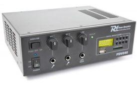 Power Dynamics PDV040 Amplificador 40W/100V-12V MP3