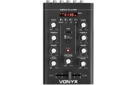 Vonyx STM500BT Mezclador 2 canales, BT, MP3, Display