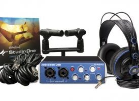 PreSonus AudioBox Stereo Pack